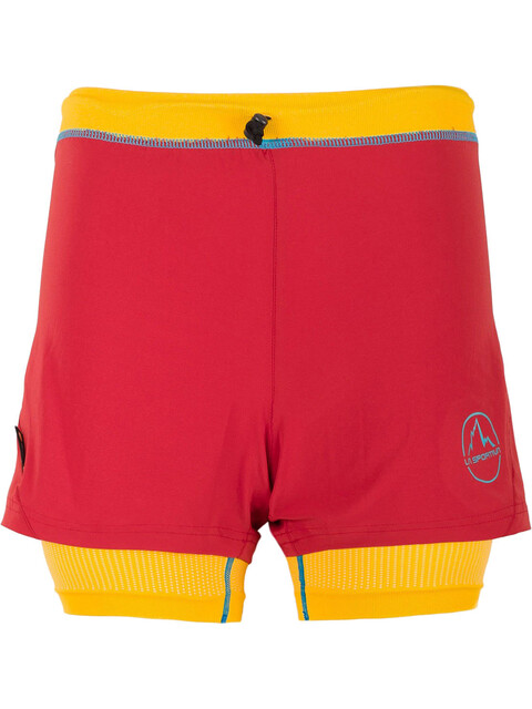 La Sportiva Vibe - Short running Femme - rouge